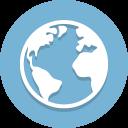 Cerca-Trova-Icona-Mappa-Mondo